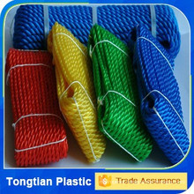 8mm 100% virgin polypropylene 3 strand baler rope