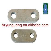 clevis linha elétrica acessórios hardware aço stamping part
