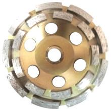 Шлифовальный круг для чашек Double Row для мягких строительных материалов