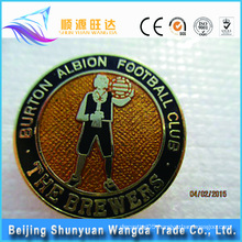 OEM Metal Man-shaped Pin Badge For Metal Football Pin Badge