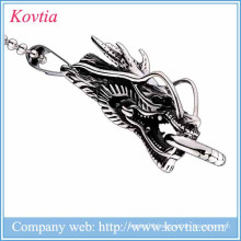new products 2015 dragon pendant stainless steel jewelry titanium steel necklace