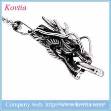 Новые товары 2015 дракон подвеска нержавеющая сталь ювелирные изделия титановые стали ожерелье
