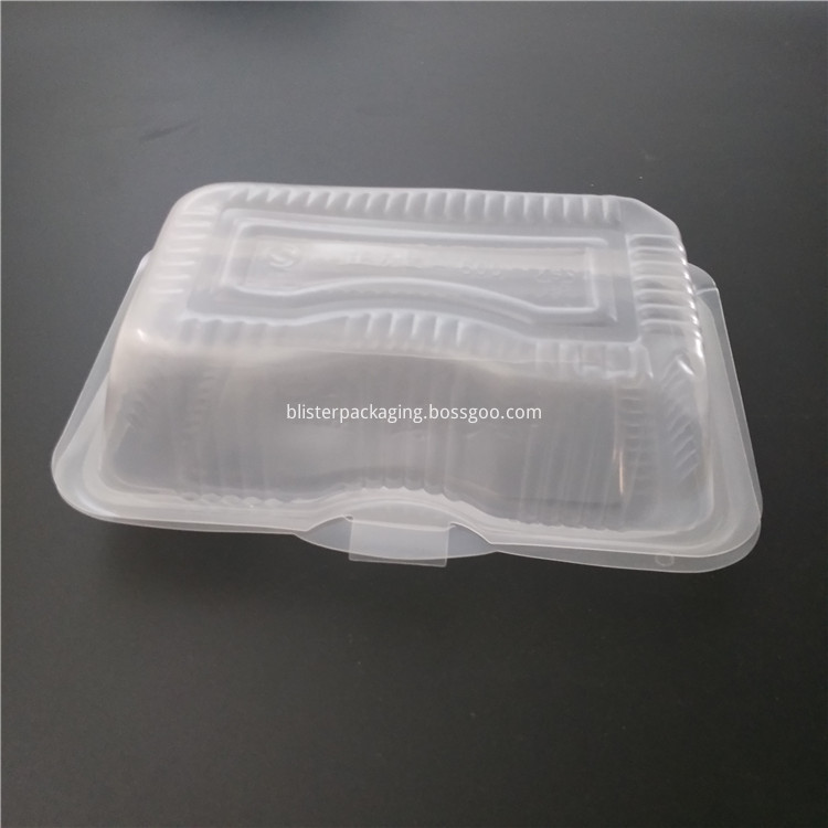 transparent food packing box