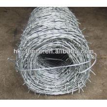 soportes de alambre de púas / especificación de alambre de púas