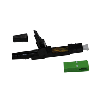 Top Selling Single Mode 0.9mm Sc / upc Fast Connector For Fttx