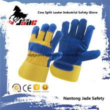 Genuine Industrial Safety Cow Split Leather Work Glove