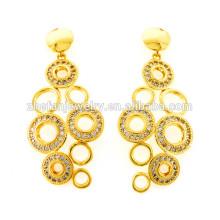 Bilder von Gold Ohrringe klassischen Stil Ohrringe großen Ohrring für Frauen