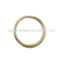 Fashion High Quality Metal Brass Welded Round Ring