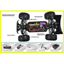 Controle de velocidade sem escova do carro de RC em brinquedos de controle de rádio, Motor sem escova