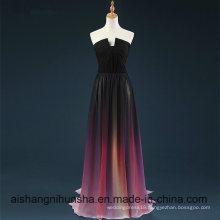 Prom Dress Gradient Chiffon Dress