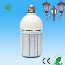 360 grados con un ventilador de enfriamiento interno 2000 lumen 270 llevó 100-240v 24v 12v 18w 20w mini luz llevada accionada solar