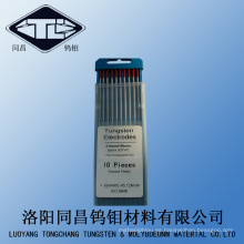 Electrodo de tungsteno ISO 6848 2% torio en venta