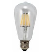 Filamento de LED 6W de luz T64-Cog 650lm 6PCS filamento