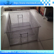 Mesh Basket Used in Shopping Mall