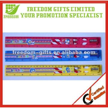 Règle en plastique de cadeau promotionnel de 30cm