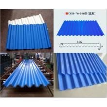 Telhado Usado Tipos Diferentes Placa de alumínio ondulado
