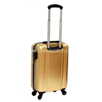 Golden UAE style surable PET luggage set