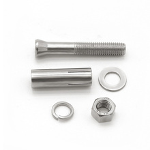 Fast delivery metric m24 m36 stainless steel expansion bolts with nuts and washers