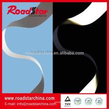 material de cuero reflectante 0,8 mm PU