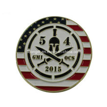 Custom Gift USA Logo Challenge Coin Advertisement