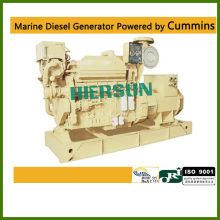 Powered by Cummins marine diesel generators 200KW/250KVA