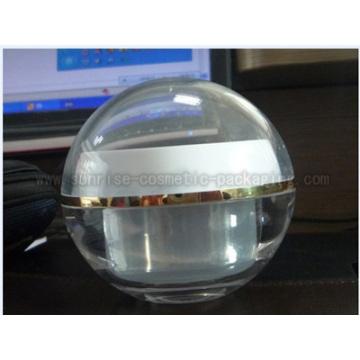 50g clair boule forme cosmétique Jar