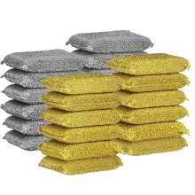 Kitchen Cleaning Non-scratch Colorful Sponge Scrubber Pad