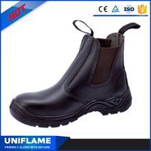Top Smooth Leather Upper Black Executive Safety Boot