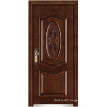 steel doors wood finish armored door/Armored doors of wood
