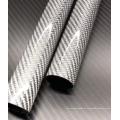 Garantia de qualidade Tubo colorido de fibra de carbono 100% real