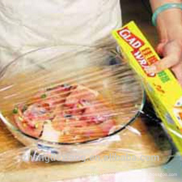 China Filme de rolo plástico conveniente novo do empacotamento de alimento da tampa plástica do Pe