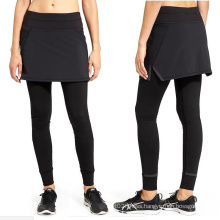All Black Ladies Fitness Pants with Dress