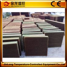 Almofada de resfriamento evaporativo Jinlong para equipamentos avícolas / pecuária