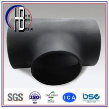 Té égal en acier au carbone forgé (raccord de soudure bout à bout) avec le meilleur prix