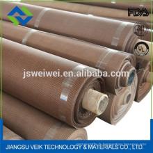 La fibre de verre enduite de ptfe de résistance à la chaleur et la courroie de conveyeur de maille de Kevlar