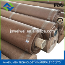 Heat resistance ptfe coated fiberglass and Kevlar mesh conveyor belt
