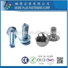 Taiwan Edelstahl 18-8 verchromt Stahl vernickelt Stahl Kupfer Messing Proben und Zeichnungen Spezielle Lock Schraube