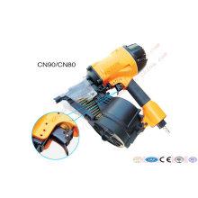Mais barato Cn50 Cn70 Cn90 Coil Nailer & Nail Gun China Fabricante