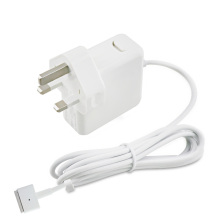 45W Apple Magsafe 2 TチップUKプラグ