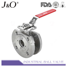 Wafer Type Ball Valve with Direct Mounting Pad DIN Pn16/Pn40