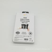 Изготовленная на заказ бумага печатание CMYK гофрированного Бумажная Коробка доставка