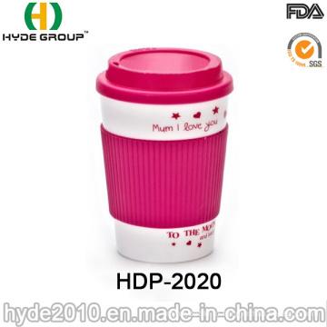 Оптовые продажи двойной стены Пластиковые кружка кофе (ДПН-2020)