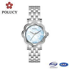 2016 Elegant Diamond Bezel for Watch Custom Women Crystal Watches Ladies