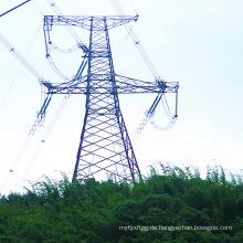 220kV Winkel Stahl Power Transmission Tower