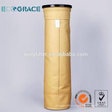 Polimida de alta resistencia a la temperatura del filtro de polvo grande (P84)