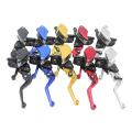 """CNC Aluminium 7/8 """"22mm Hydraulische Motocross Einstellbare Bremshebel Motorrad Kupplungsbremshebel für 50-300CC Moto"""