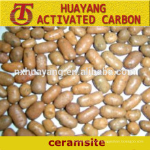 2-4mm Natural Ceramsite/Ceramsite Sand for agriculture and water treatment