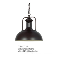 Good Quality Popular Black Metal Modern Pendant Lamp (C725)