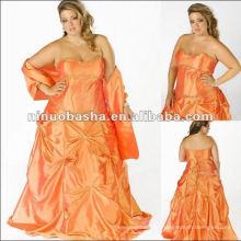 Strapless Taffeta Evening Dress 2012