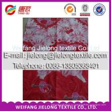 Высокое качество законченный персик хлопок ткань для постельного комплекта